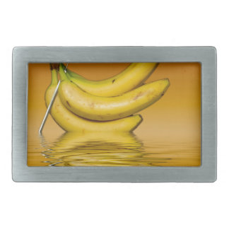 Ripe Yellow Bananas Rectangular Belt Buckles