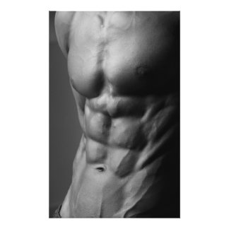 Ripped Abs Poster #1