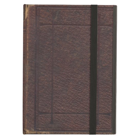 Ripped and Torn Vintage Textured Book Cover Case