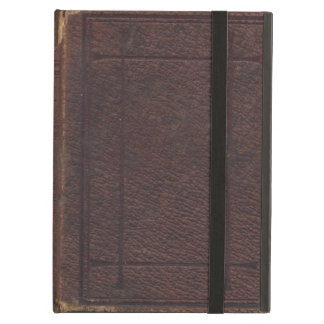 Ripped and Torn Vintage Textured Book Cover iPad Cover