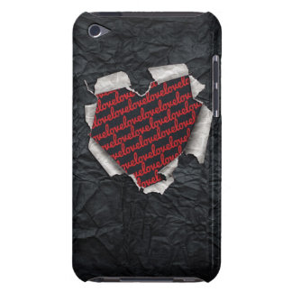 Ripped Heart iPod Touch Covers