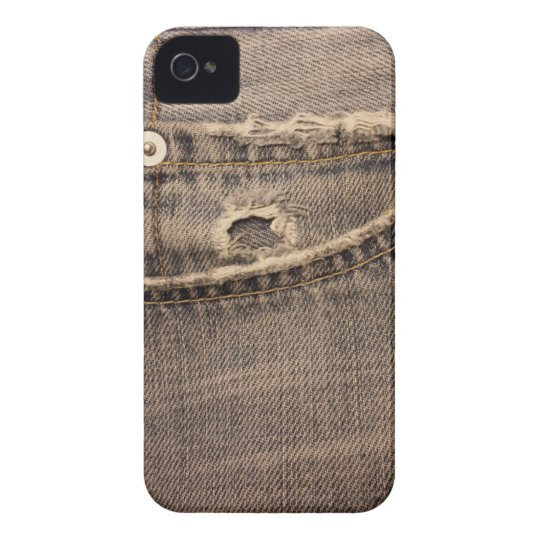 Ripped Jeans Pocket iPhone4 Case-Mate ID