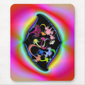 Ripped Psychedelic Frame Mousepad