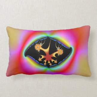 Ripped Psychedelic Frame Pillows