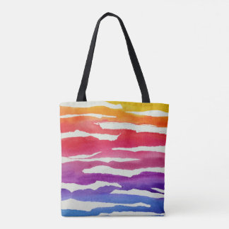 Ripped Rainbow Tote Bag