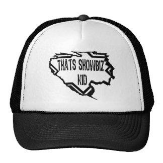 Ripped Star - Thats Showbiz Kid- Black Trucker Hats