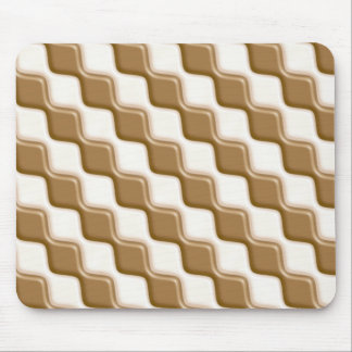 Rippled Diamonds - Milk and White Chocolate Mousepad