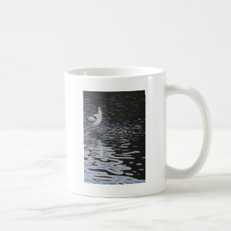 Ripples and a Avocet in contrast Coffee Mug
