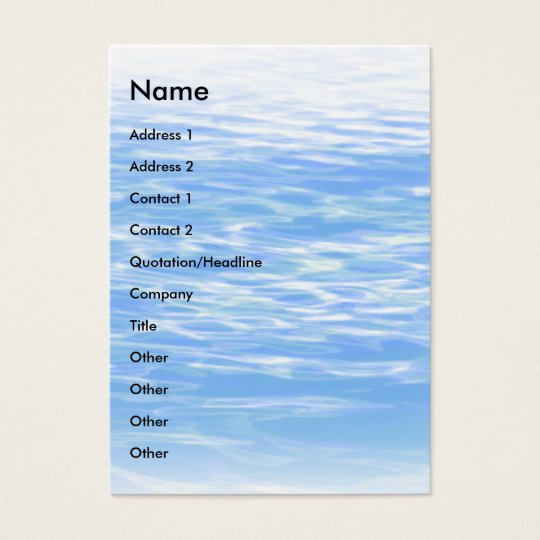 Ripples | business card