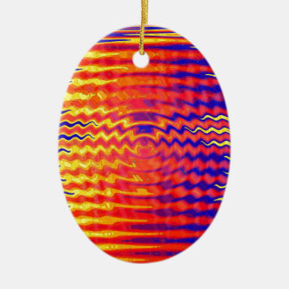 Ripples in a dream christmas ornament