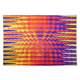 Ripples in a dream place mat