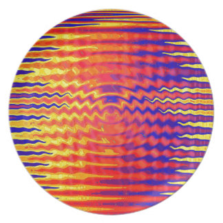 Ripples in a dream plate