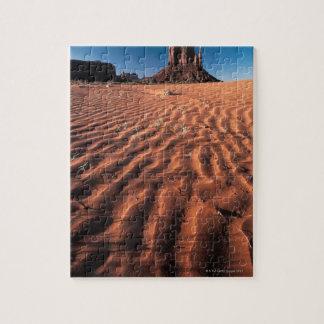 Ripples in desert sand , Monument Valley , Utah Jigsaw Puzzle