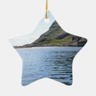Ripples on water ceramic star decoration