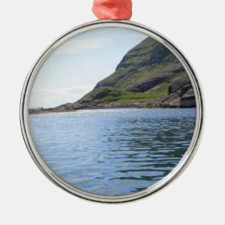 Ripples on water christmas ornament