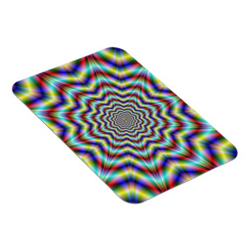 Rippling Star Photo Magnet