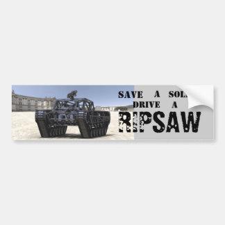 Ripsaw bumper sticker