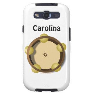 Riq Tambourine Percussion Custom Name Samsung Galaxy S3 Cover