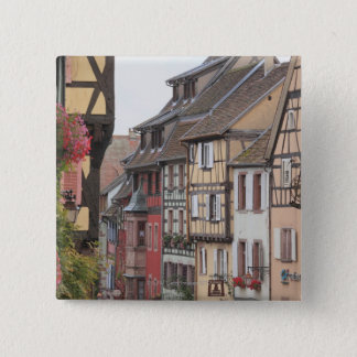 Riquewihr, Alsace, France 15 Cm Square Badge