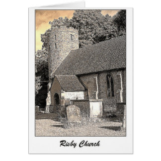 Risby Church Card