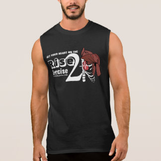 Rise 2 Exercise Chest and Crest Sleeveless Shirt