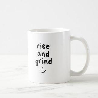 rise and sh... grind coffee mug
