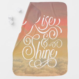 Rise and Shine Baby Blanket