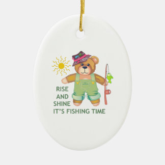 RISE AND SHINE CHRISTMAS TREE ORNAMENTS