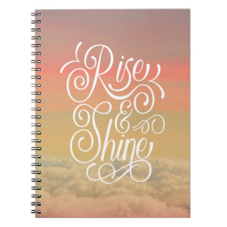 Rise and Shine Notebooks