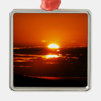 Rise And Shine Sunrise Christmas Ornament