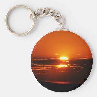 Rise And Shine Sunrise Key Ring