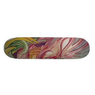 RISE by riton tattoo 21.6 Cm Old School Skateboard Deck