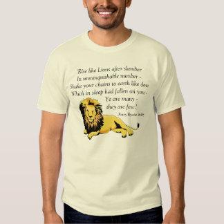 """""""Rise like Lions"""" T-Shirt"""