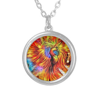 Rise of Phoenix Silver Plated Necklace