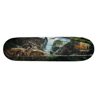 Rise of the Dinos - Street Art Skate Deck