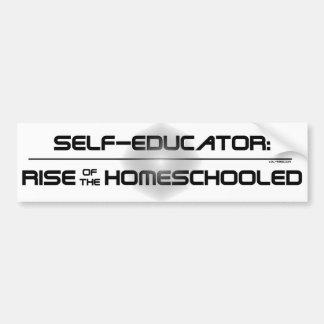 Rise of the Homeschooled Bumper Sticker