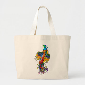Rise of the Phoenix Large Tote Bag
