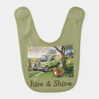 Rise & Shine Babies Bib