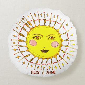 Rise & Shine Round Cushion