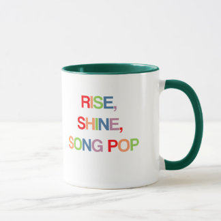 Rise, Shine, Song Pop Mug