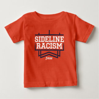RISE Sideline Racism T-shirt baby orange/navy