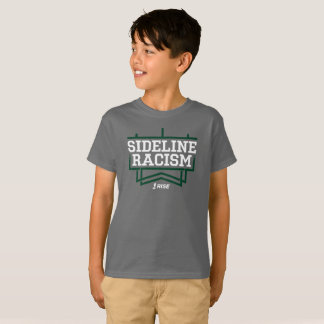 RISE Sideline Racism T-shirt kids' gray/green