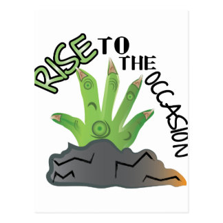 Rise To Occasion Postcard