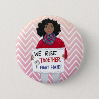 Rise Together 6 Cm Round Badge