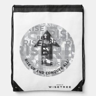 'Rise Up' Drawstring Backpack