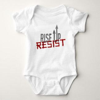 Rise Up, Resist Baby Bodysuit