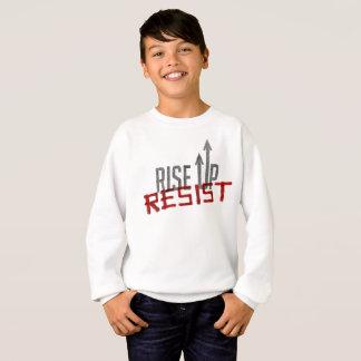 Rise Up, Resist Boy's Sweatshirt