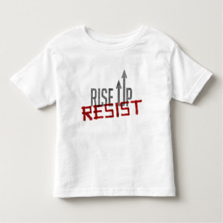 Rise Up, Resist Toddler Jersey T-Shirt