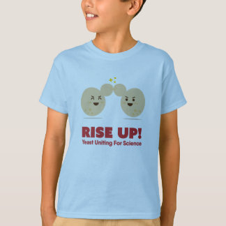 RISE UP! Yeast Uniting for Science - Kids' T-shirt