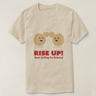 RISE UP! Yeast Uniting for Science - Men's T-shirt